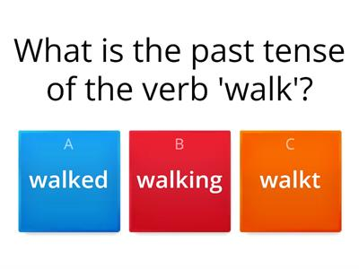 past tense verbs