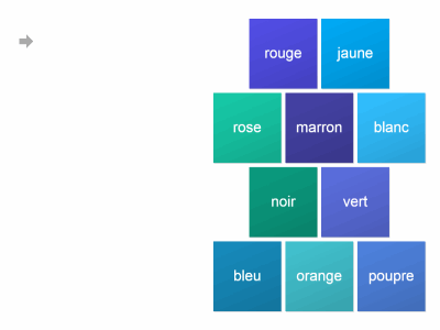 What colour (French)