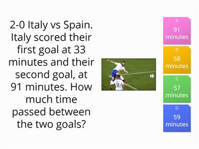 Euro 2016 - seven numeracy questions