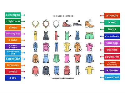 E8 - CLOTHES and ACCESORIES
