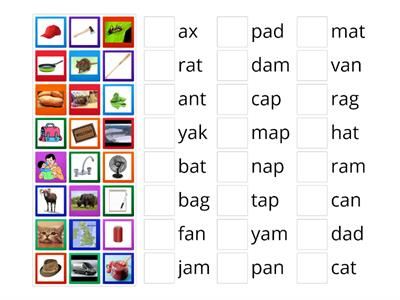 Oxford Phonics 2 -an -at -am -ad -ag -ap -a