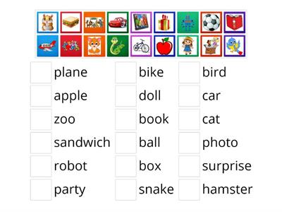 2nd Grade/ Word game