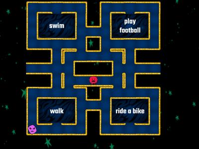 pacman activities