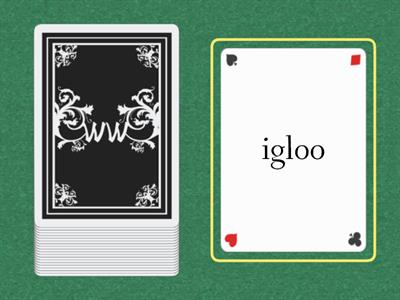 The Food Booth Concentration cards