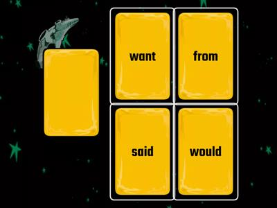 Fundations Trick Words-