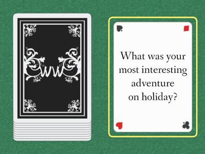 Holiday questions...