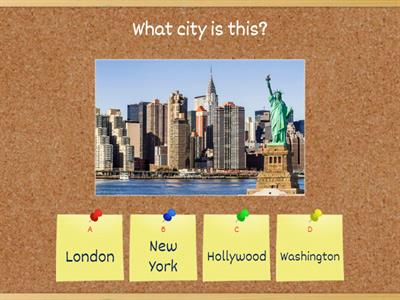 Quiz - the USA