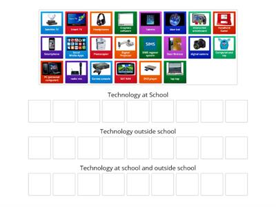 Technology at Home and at School