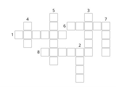 Link kl IV unit 1 adjectives crossword