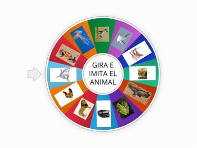 RULETA DE LOS ANIMALES
