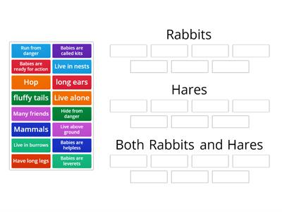 Rabbits vs Hares