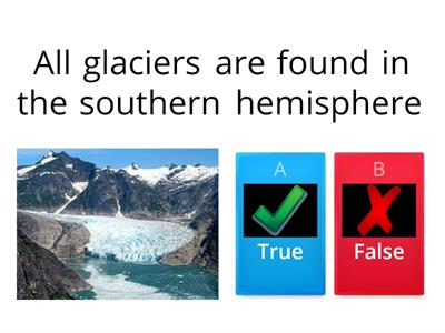 What are glaciers