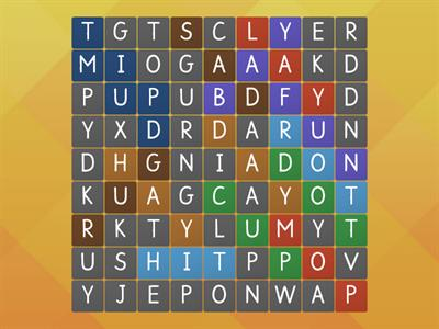 sonday level 8 wordsearch