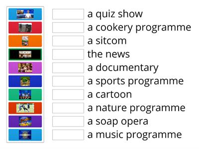 Entertainment - TV programmes