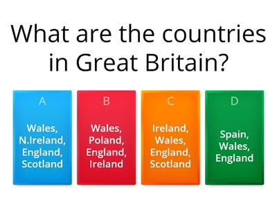 Great Britain Quiz 2