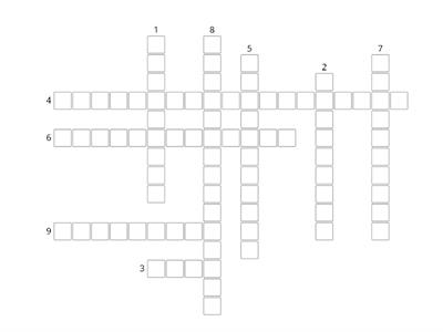 Principles of training crossword