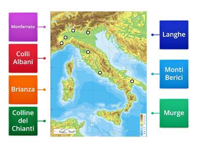 Cartina Italia Con Legenda.Geografia La Mappa Risorse Per L Insegnamento