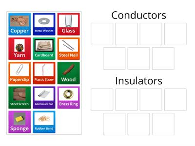 Copy of 5.P.3.2 - Thermal Conductors or Insulators