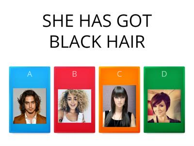 LET´S DESCRIBE OUR HAIR!