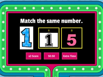 Copy of Math (Pre-Nursery)-Match the number