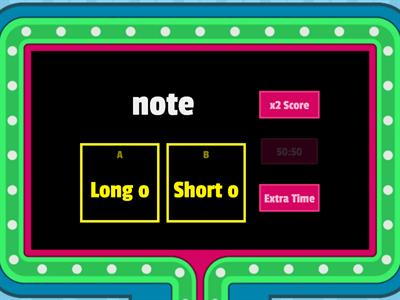 Long vs Short vowels