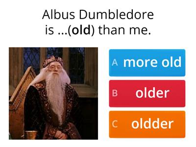 Harry Potter Comparisons