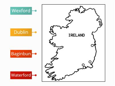 The Invasion of Ireland - Key Locations