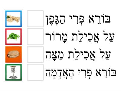 Passover Vocabulary (D'rash)