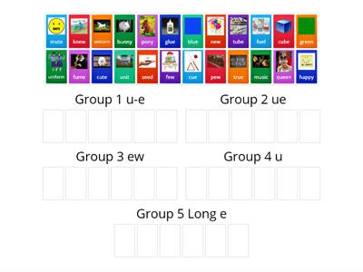 Unit 3 Week 5 Sorting the Groups