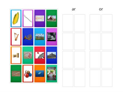 ar/or picture sort