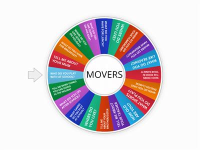 personal questions- movers