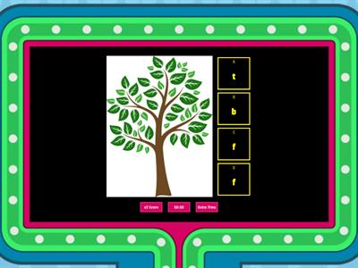 Initial Sound Sort Fundations m, b, t -Game Show