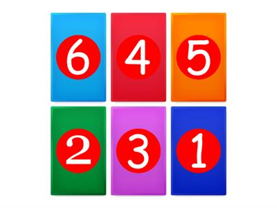 Colours and numbers