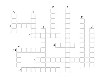 Travel crossword