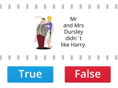 Harry Potter 1 True/False