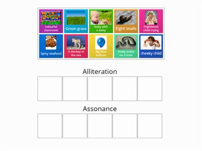 Sorting assonance and alliteration