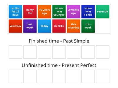 9C Present Perfect vs Past Simple