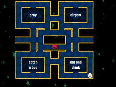 Pacman places & activities lvl 6