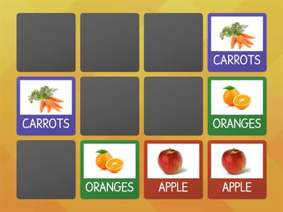 FOOD (FRUITS AND VEGETABLES)