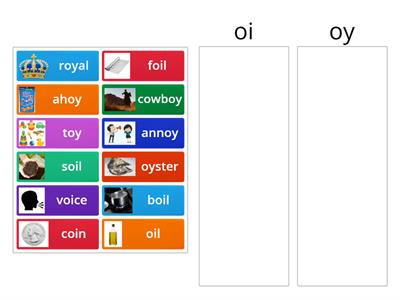 Vowel Teams oi & oy