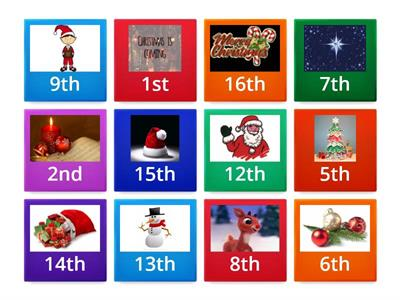 Copy of Class Digital Advent Calendar