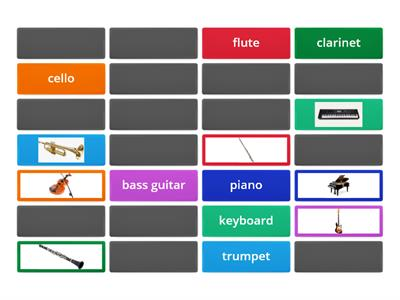 Solutions musical instruments