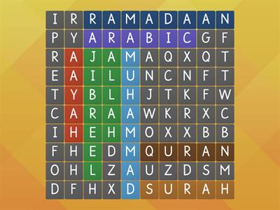 Quran wordsearch
