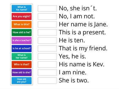 Year 4 Unit 6 - verb to be