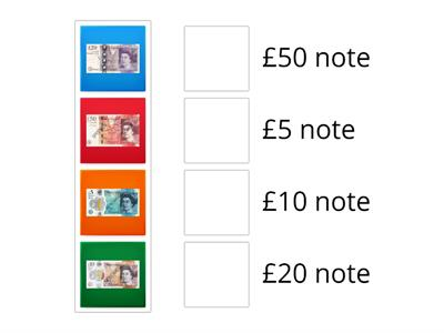 TLC: Can I recognise british bank notes?