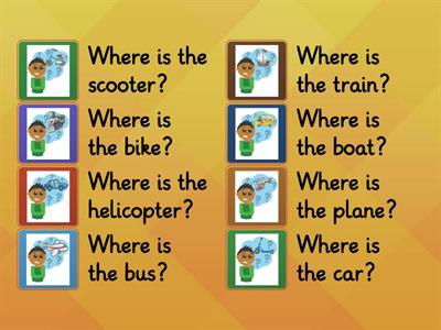 Transportation - Where is it?
