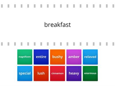 Oxford Discover 4 The Breakfast Quest (combinations)