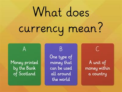 Identifying Currency