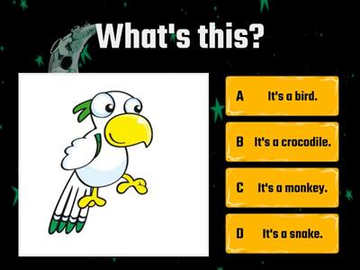 Kids Starter - Unit 4 - Animals (Quiz)