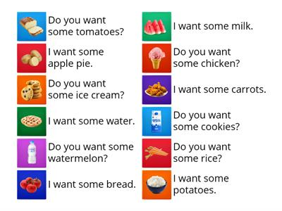 Grade 4, Unit 8 ~ What do you want?